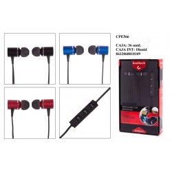 AURICULARES C/MICRO CPE566