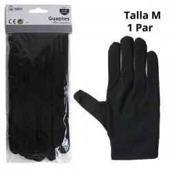 GUANTES ALGODON NGR T M A7316