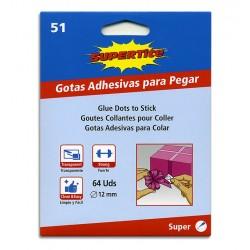 GOTAS ADHESIVAS 64 UD 2451