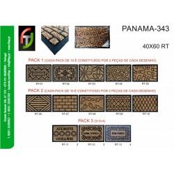 FELPUDO 40X60 CM PANAMÁ 343
