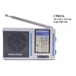 RADIO AM/FM CPR116