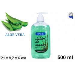 JABON LIQ 500 ML ALOE 107458