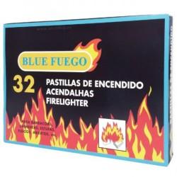 PASTILLAS FUEGO BLUE 32 UN 4588