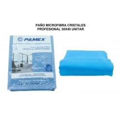 PAÑO MICROFIBRA CRISTALES 38X40 CM