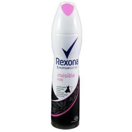 DEO REXONA SPRAY 150ML INVISIBLE 003-543